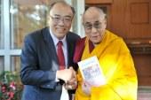 蘇嘉宏教授訪問達賴喇嘛:若不為難,隨時歡喜到台灣