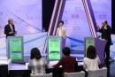 香港特首候選人昨夜論戰,民眾參與熱情空前