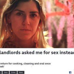 """歐美興起""""以性換租"""",英國25萬女性被迫與房東發生性行為..."""