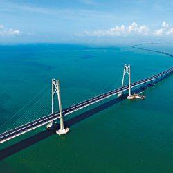 港珠澳大橋啟用香港珠海齊發展