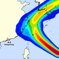 超強颱風「康妮」轉向 10月7日或吹襲韓國濟州島