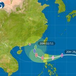 颱風「玉兔」萬聖節抵港  3成機會正面來襲