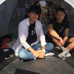 香港理工大學學生會與校方衝突 兩人絕食