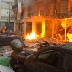 巴黎市中心爆炸原因公布